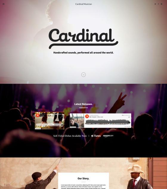 Cardinal - Musician by Swift Ideas