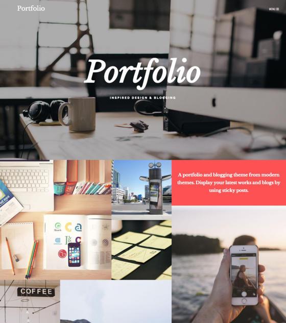 Portfolio by Modern Themes