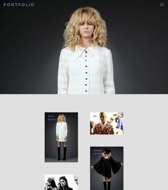 Portfolio by Minimal Themes