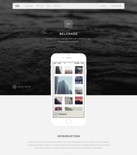 Belgrade by Limitless Themes