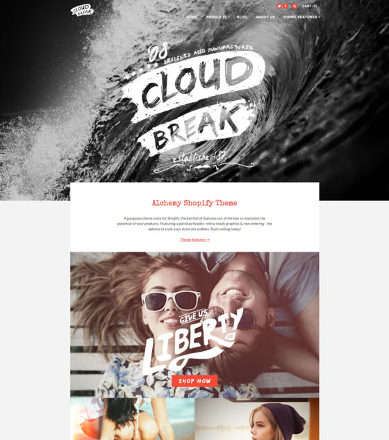 Alchemy - CloudBreak by Clean Themes