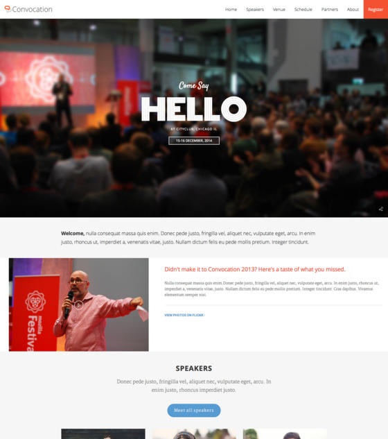 Convocation by ImiThemes