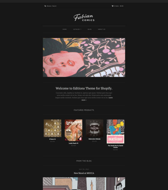 Editions - Modern by Pixel Union