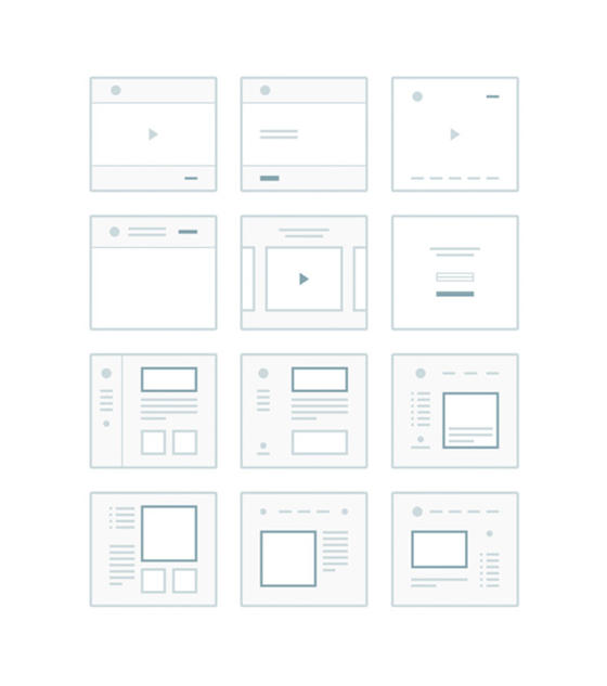 TinyFrames UX Kit by CreativeDash