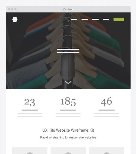 UX Kits Responsive Website by Eric Miller Design