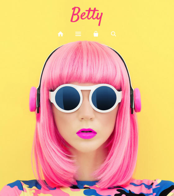 Showcase - Betty by Clean Themes