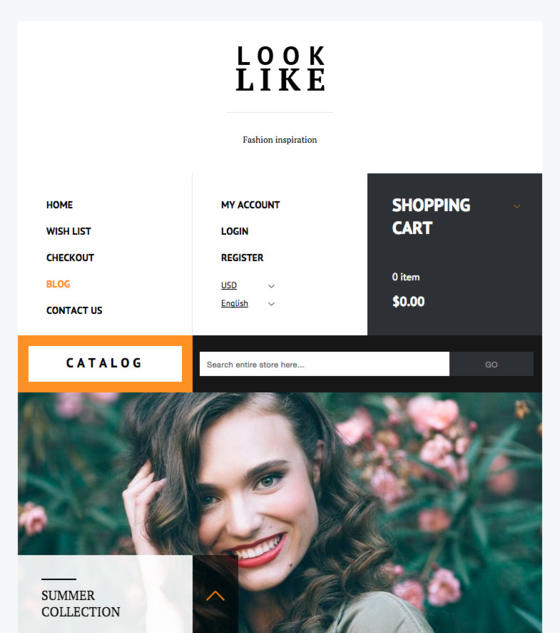Look Like by Magnium Themes