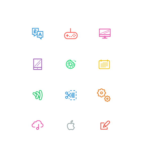 Line Icons by Hello Many